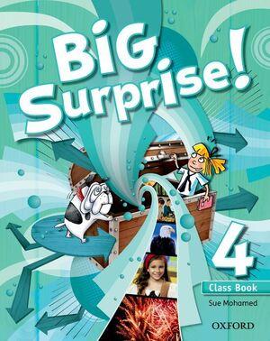 BIG SURPRISE! 4. CLASS BOOK