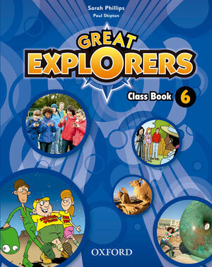 GREAT EXPLORERS 6. CLASS BOOK PACK REVISED EDITION