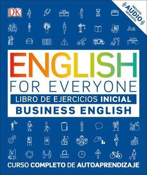 EFE BUSINESS ENGLISH NIVEL INICIAL - LIBRO DE EJERCICIOS