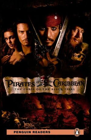 PENGUIN READERS 2: PIRATES OF THE CARIBBEAN: THE CURSE OF THE BLACK PEARL BOOK &