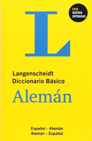 DICCIONARIO BASICO ALEMAN/ESPAÑOL