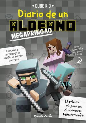 MINECRAFT. DIARIO DE UN ALDEANO MEGAPRINGAO