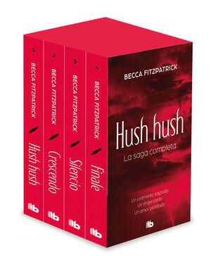 TETRALOGÍA HUSH HUSH (EDICIÓN ESTUCHE CON: HUSH HUSH  CRESCENDO  SILENCIO  FI