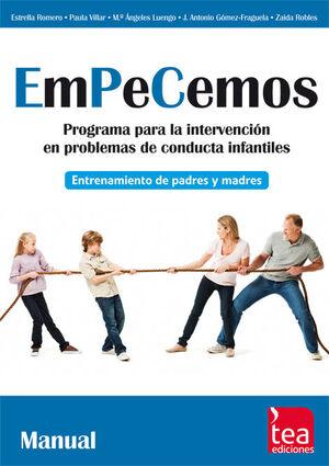 EMPECEMOS, PROGRAMA PARA LA INTERVENCIÓN EN PROBLEMAS DE CONDUCTA INFANTILES