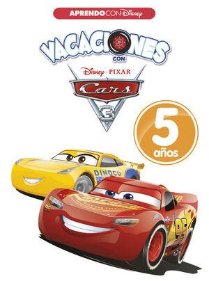 VACACIONES CON CARS. 5 AÑOS (APRENDO CON DISNEY)