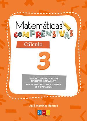 MATEMÁTICAS COMPRENSIVAS. CÁLCULO 3