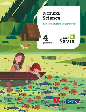 NATURAL SCIENCE. 4 PRIMARY. MY LEARNING WORBOOK. MAS SAVIA.