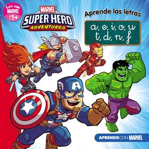 SUPER HERO ADVENTURES APRENDE LAS LETRAS