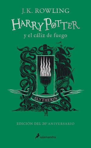 HARRY POTTER Y EL CALIZ DE FUEGO (EDICION SLYTHERIN DEL 20º ANIVERSARIO)