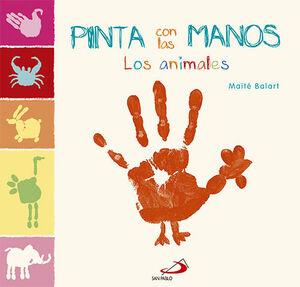 PINTA CON LAS MANOS. LOS ANIMALES