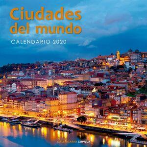CALENDARIO CIUDADES DEL MUNDO 2020