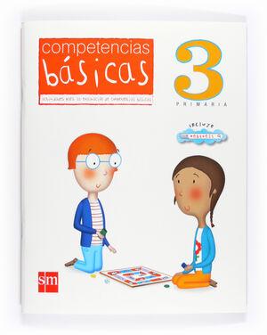 COMPETENCIAS BÁSICAS. 3 PRIMARIA