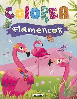 COLOREA FLAMENCOS