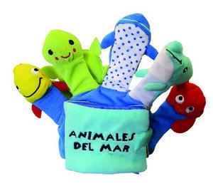 LIBRO GUANTE ANIMALES DEL MAR