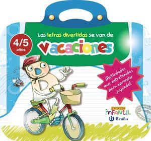 LAS LETRAS DIVERTIDAS SE VAN DE VACACIONES 4 AÑOS