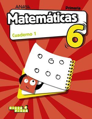MATEMÁTICAS 6. CUADERNO 1.
