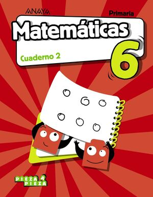 MATEMÁTICAS 6. CUADERNO 2.