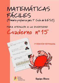 MATEMÁTICAS FÁCILES 15