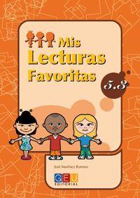 MIS LECTURAS FAVORITAS 5.3