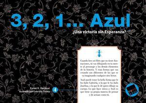 3, 2, 1?  ¿UNA VICTORIA SIN ESPERANZA? AZUL (SERIE AZUL 4 DE 8)