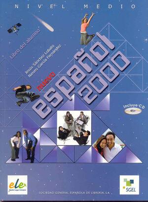 ESPAÑOL 2000 MEDIO ALUMNO + CD