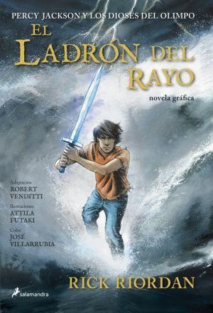 EL LADRÓN DEL RAYO (PERCY JACKSON Y LOS DIOSES DEL OLIMPO [NOVELA GRÁFICA] 1)