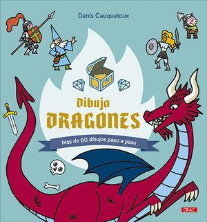 DIBUJO DRAGONES
