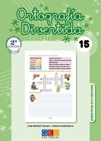 ORTOGRAFÍA DIVERTIDA 15