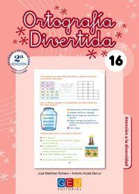 ORTOGRAFÍA DIVERTIDA 16