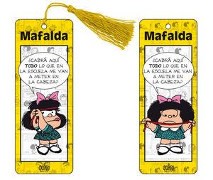 MARCAPAGINAS 3D MAFALDA - AMARILLO