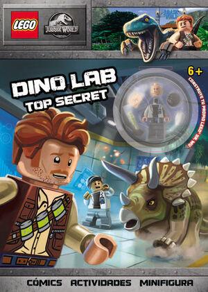 LEGO JURASSIC WORLD. DINO LAB TOP SECRET